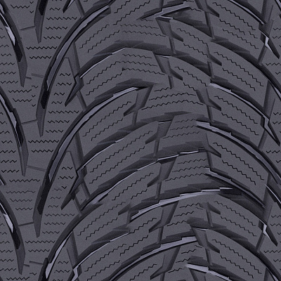 Tire tread Seamless Texture #6001