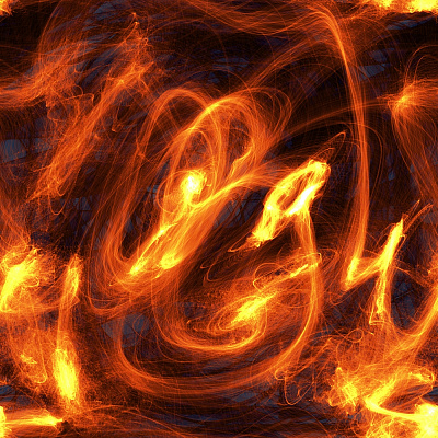 Fire Seamless Texture #5347