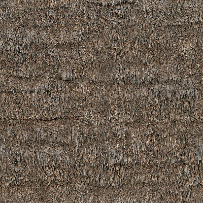 Seamless roof thatched texture #7063