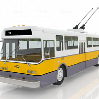 Trolleybus #12127