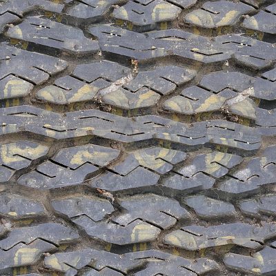 Tire tread Seamless Texture #6002