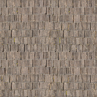 Seamless wood shingles roof texture #6974