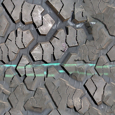 Tire tread Seamless Texture #6000