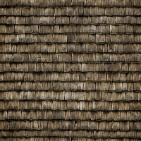 Seamless wood shingles roof texture #6970