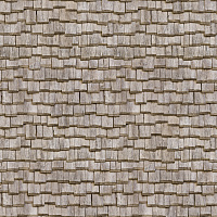 Seamless wood shingles roof texture #6971