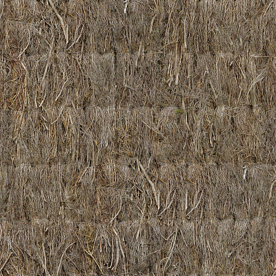 Seamless roof thatched texture #7061