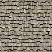 Seamless wood shingles roof texture #6984