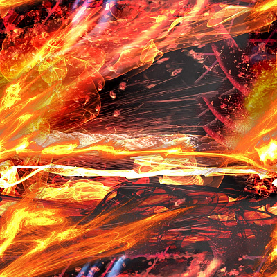 Fire Seamless Texture #5341