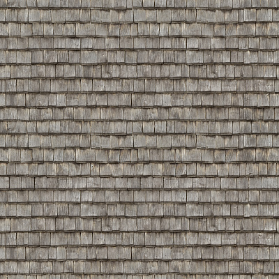 Seamless wood shingles roof texture #6978