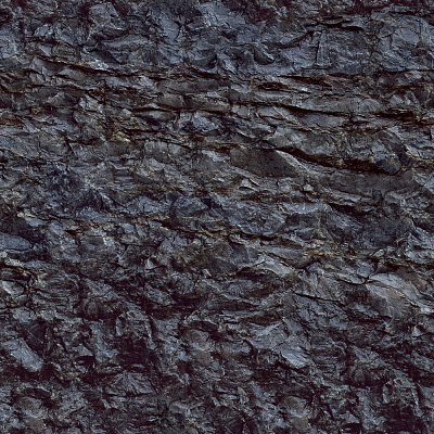 Coal Seamless Texture #3456