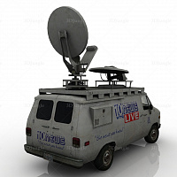 TV news car #12125