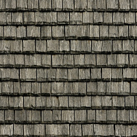 Seamless wood shingles roof texture #6985