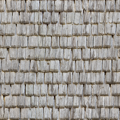 Seamless wood shingles roof texture #6986
