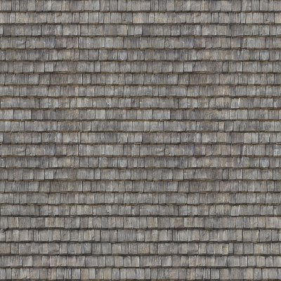 Seamless wood shingles roof texture #6976